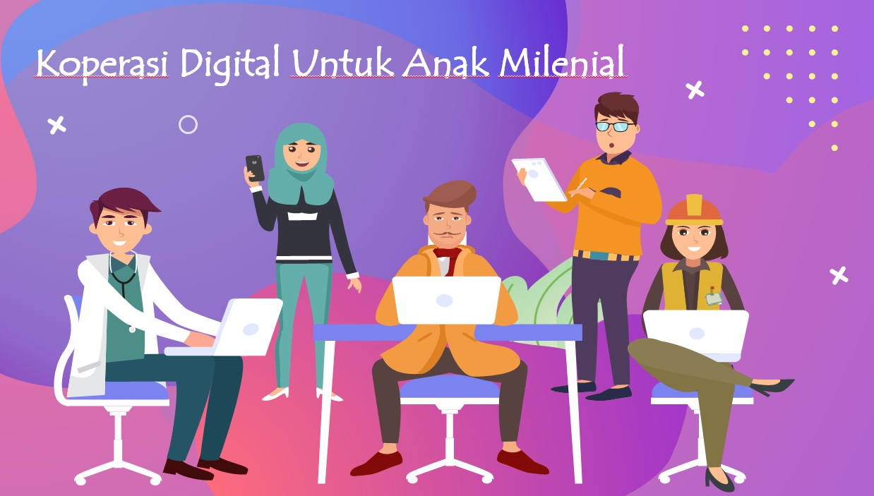 Koperasi Digital Untuk Anak Milenial